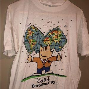 1992 Barcelona, Spain Summer Olympics t shirt